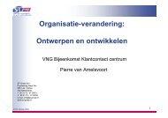 Organisatie-verandering: Ontwerpen en ontwikkelen