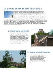Wijkvisie Overschie - Woonstad Rotterdam