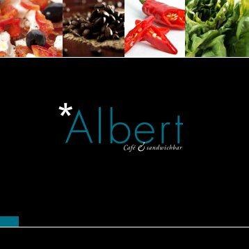 Untitled - Velkommen til Albert Café & Sandwich bar