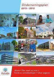 Ondernemingsplan 2012-2015 - Arcade