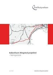 Høringsnotat fra Trafikstyrelsen - Jernbanen - Ølby Nyt
