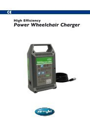 Power Wheelchair Charger - Permobil