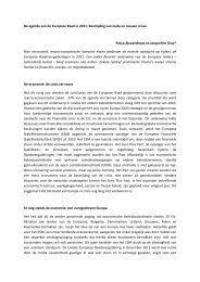De agenda van de Europese Raad in 2011 - Montesquieu Instituut