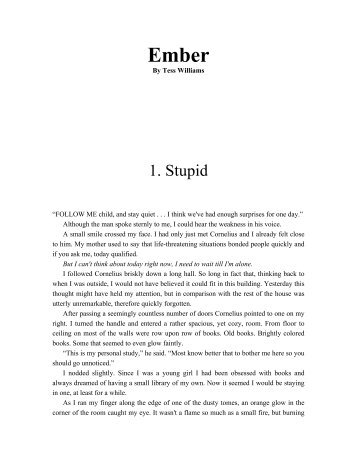 1. Stupid - Young Adult Books