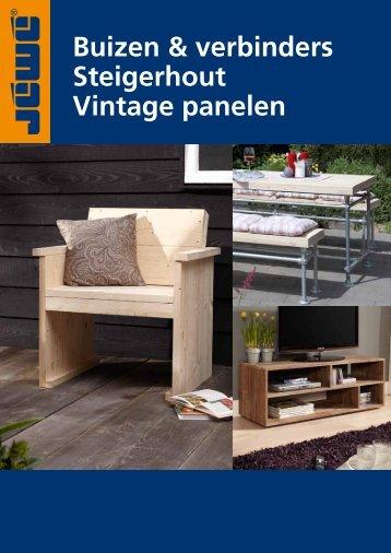 Brochure_Jewe_steigerhout, verbinders en vintage panelen ... - JéWé