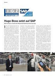 Hugo Boss setzt auf SAP - materialfluss.de
