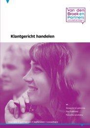 brochure - Van den Broek en Partners