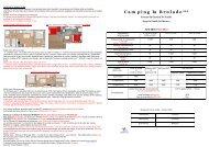 DESCRIPTIF MOBIL-HOME : - Camping La Brulade