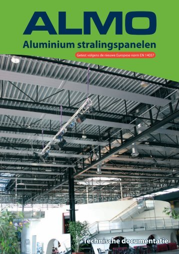 Aluminium stralingspanelen - Almo