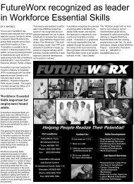 FutureWorx recognized as leader in Workforce Essential Skills