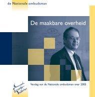 Volledige tekst van het jaarverslag 2005 (pdf) - De Nationale ...