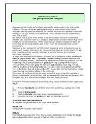 transitie-instrument 8 Een goed persbericht schrijven Omgaan met ...