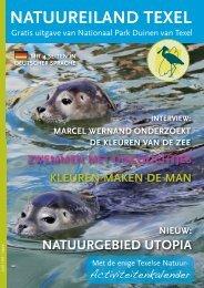 natuureiland texel mit 4 seiten in deutscher sprache - Nationaal Park ...