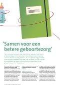 ZonMw Digimagazine - Zwangerschap en Geboorte Noord-Nederland - Page 5