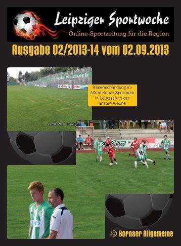 Ausgabe 02/2013-14 vom 02.09.2013