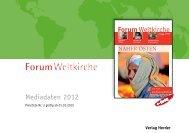 Forum Weltkirche - Verlag Herder