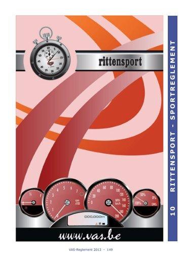 10 RITTENSPORT - SPORTREGLEMENT - VAS