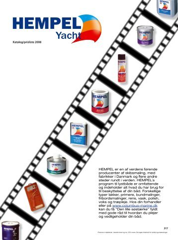 HEMPEL er en af verdens førende producenter af skibsmaling, med ...