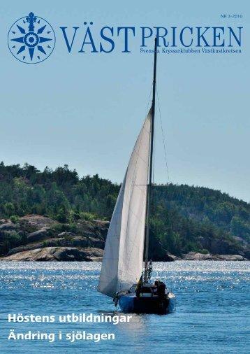 Ändring i sjölagen Höstens utbildningar - Västkustkretsen