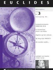 86-3 - Nederlandse Vereniging van Wiskundeleraren