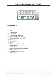 15 Wijzigingen Algemene Voorwaarden - SB Automatisering BV