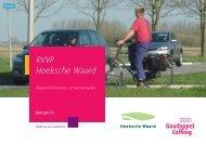 RVVP Hoeksche Waard - Stop A4 Beneluxtunnel
