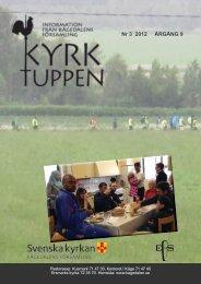 Nr 3 2012 ÅRGÅNG 9 - Kågedalens församling