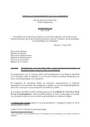 ministeriële omzendbrief - rkw