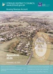 Housing Revenue Account Business Plan 2005-2009 Appendices