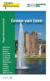 Groen van toen - Stadsherstel Amsterdam