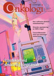 Den för e - Onkologi i Sverige