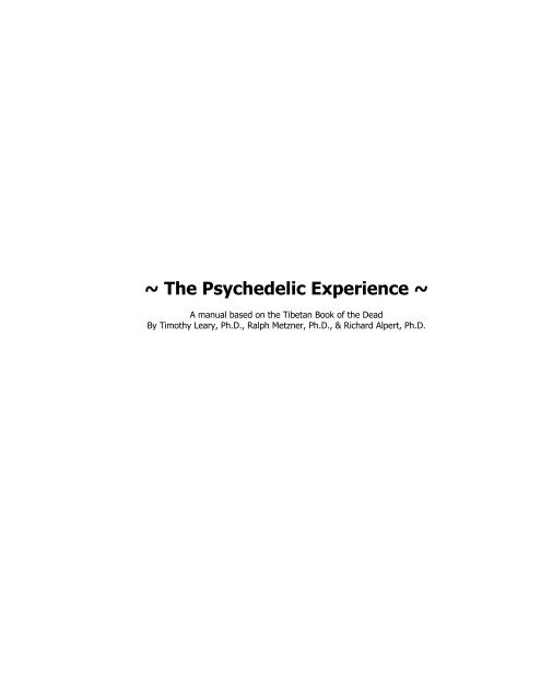 Timothy-Leary-The-Psychedelic-Experience-The-Tibetan-Book-Of-The-Dead