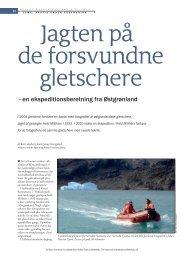 - en ekspeditionsberetning fra Østgrønland - Aktuel Naturvidenskab