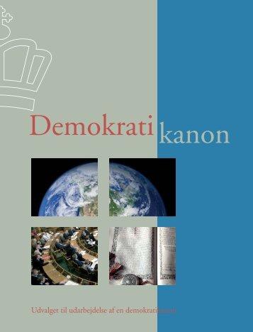 Demokratikanon fra 2008 - Undervisningsministeriet