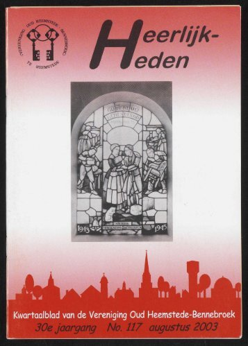 1 - Historische Vereniging Heemstede-Bennebroek