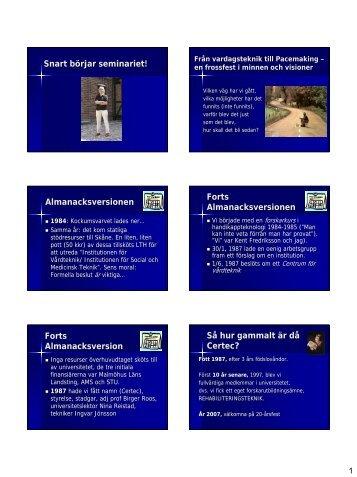 Lärande OCH Design - Certec