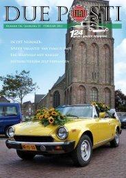 IN DIT NUMMER - Fiat 124 Sport Spider Register