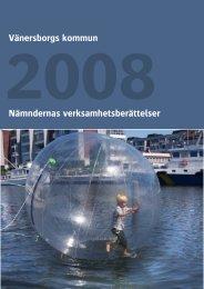 Nämndernas verksamhetsberättelse 2008 - Vänersborgs kommun