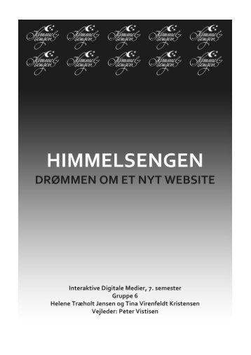 Himmelsengen – drømmen om et nyt website