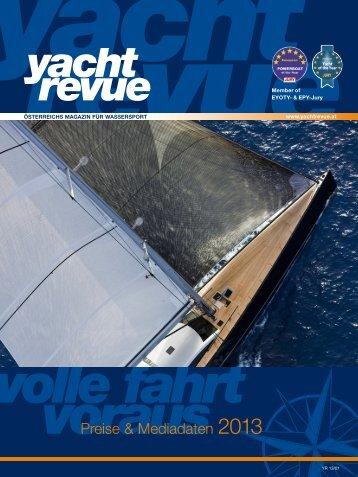 YR_Preisliste_2013 - Yachtrevue