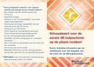 Schouwkaart - Incident Management