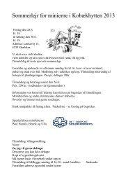 Sommerlejr for minierne i Kobækhytten 2013 - Karl af Riise