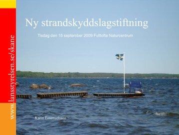 090915 Karin Emanuelsson - Hållbar Utveckling Skåne