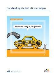 Handleiding diefstal uit voertuigen - Algemene Directie Veiligheid ...
