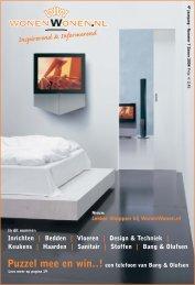 Inrichten | Bedden | Vloeren | Design & Techniek - WonenWonen.nl