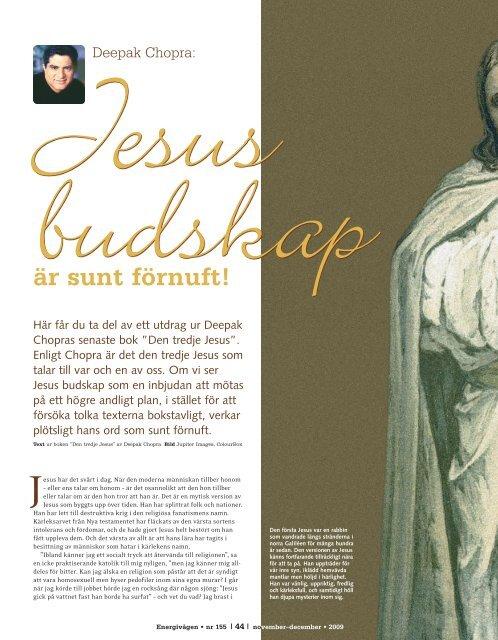 jesus budskap