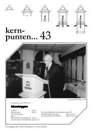 nummer 43  1999 - De Oude Dorpskern