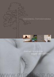 Last ned brosjyre - Grindberg Trevarefabrikk