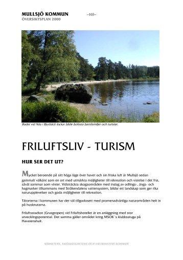 FRILUFTSLIV - TURISM - Mullsjö kommun