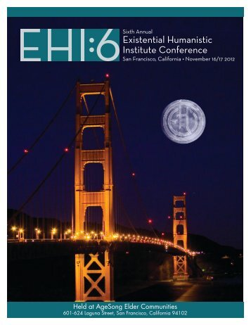 Download the 2012 EHI6 Conference Schedule Outline [PDF]